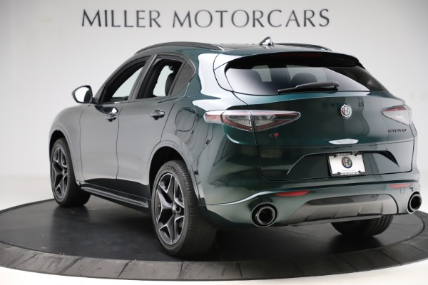 New 2020 Alfa Romeo Stelvio Ti Sport Carbon Q4 for sale Sold at Alfa Romeo of Greenwich in Greenwich CT 06830 5