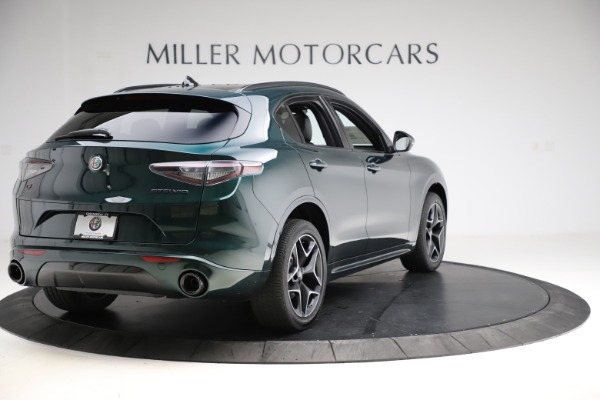New 2020 Alfa Romeo Stelvio Ti Sport Carbon Q4 for sale Sold at Alfa Romeo of Greenwich in Greenwich CT 06830 7