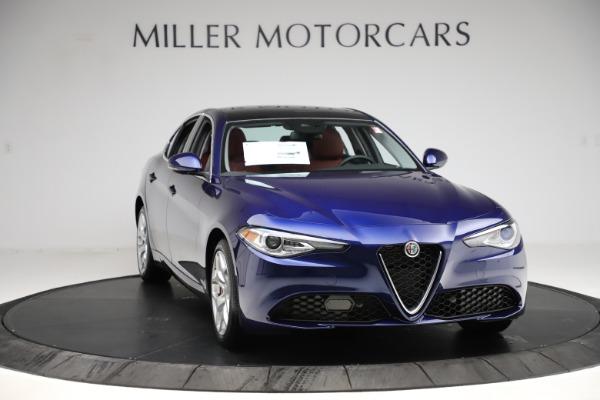 New 2020 Alfa Romeo Giulia Ti Q4 for sale $47,795 at Alfa Romeo of Greenwich in Greenwich CT 06830 11