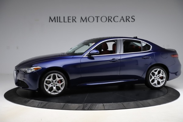New 2020 Alfa Romeo Giulia Ti Q4 for sale Sold at Alfa Romeo of Greenwich in Greenwich CT 06830 2