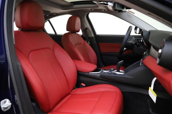 New 2020 Alfa Romeo Giulia Ti Q4 for sale $47,795 at Alfa Romeo of Greenwich in Greenwich CT 06830 21