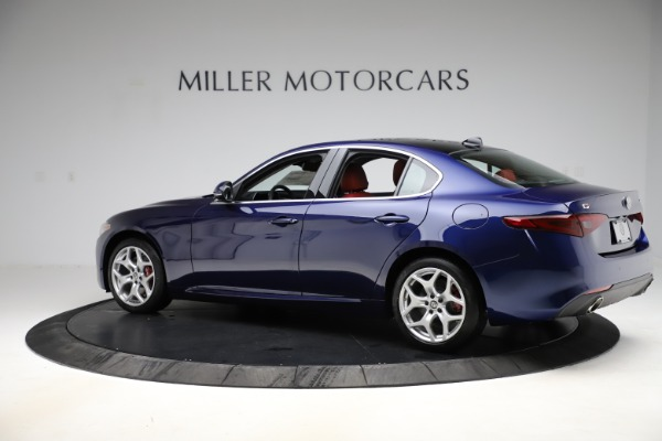 New 2020 Alfa Romeo Giulia Ti Q4 for sale Sold at Alfa Romeo of Greenwich in Greenwich CT 06830 4