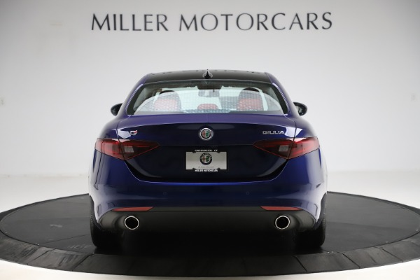 New 2020 Alfa Romeo Giulia Ti Q4 for sale Sold at Alfa Romeo of Greenwich in Greenwich CT 06830 6