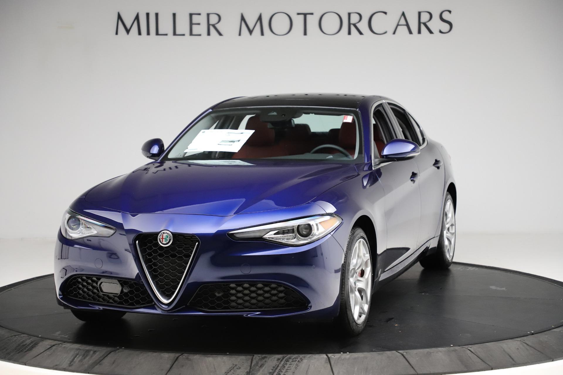 New 2020 Alfa Romeo Giulia Ti Q4 for sale $47,795 at Alfa Romeo of Greenwich in Greenwich CT 06830 1