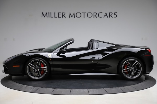 Used 2017 Ferrari 488 Spider for sale Sold at Alfa Romeo of Greenwich in Greenwich CT 06830 3