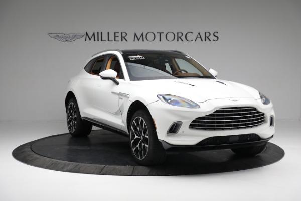 New 2021 Aston Martin DBX for sale $211,636 at Alfa Romeo of Greenwich in Greenwich CT 06830 10