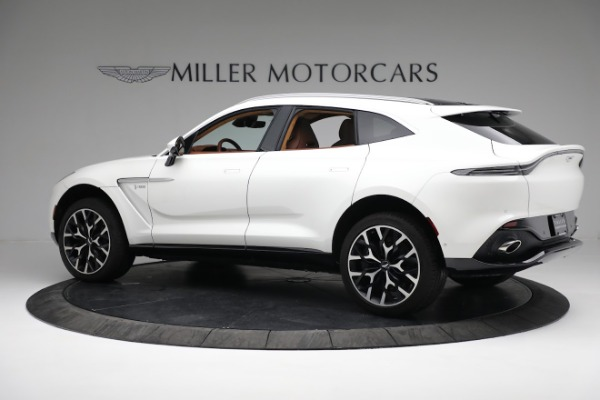 New 2021 Aston Martin DBX for sale $211,636 at Alfa Romeo of Greenwich in Greenwich CT 06830 3