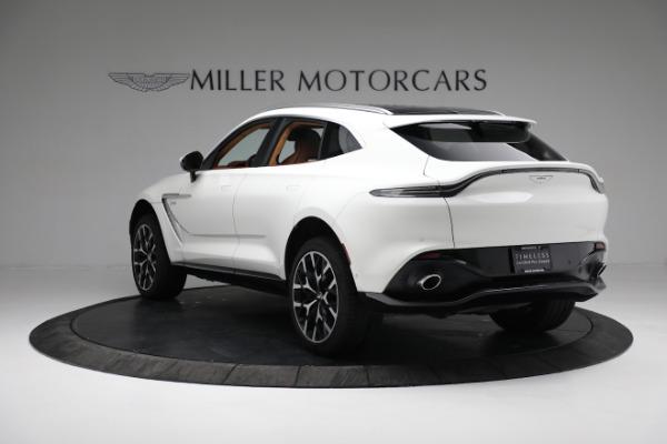 New 2021 Aston Martin DBX for sale $211,636 at Alfa Romeo of Greenwich in Greenwich CT 06830 4