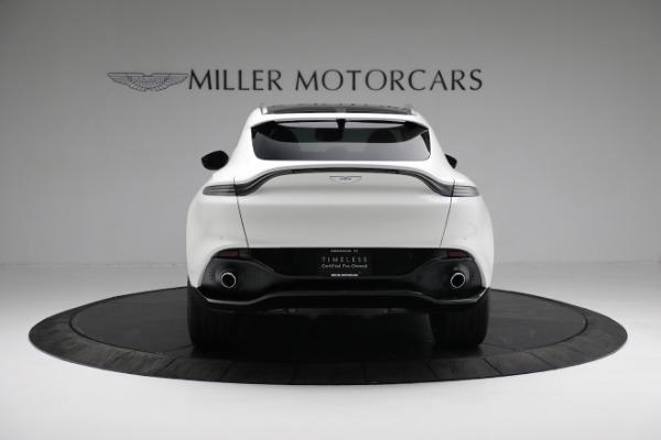 New 2021 Aston Martin DBX for sale $211,636 at Alfa Romeo of Greenwich in Greenwich CT 06830 5