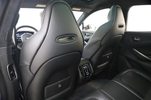 New 2021 Aston Martin DBX SUV for sale $194,486 at Alfa Romeo of Greenwich in Greenwich CT 06830 17