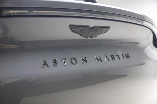 New 2021 Aston Martin DBX SUV for sale $194,486 at Alfa Romeo of Greenwich in Greenwich CT 06830 22