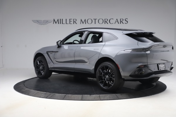 New 2021 Aston Martin DBX SUV for sale $194,486 at Alfa Romeo of Greenwich in Greenwich CT 06830 3