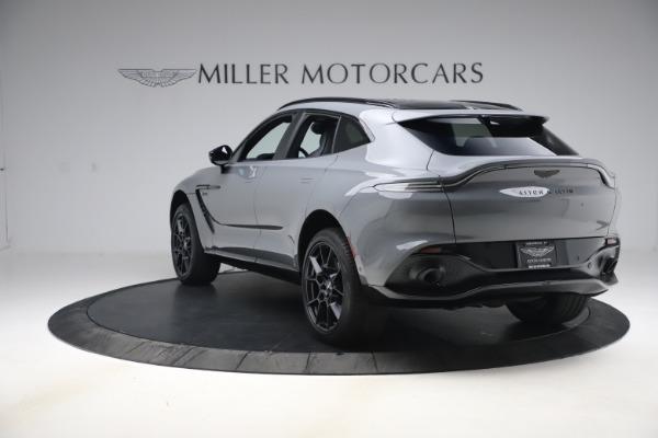 New 2021 Aston Martin DBX SUV for sale $194,486 at Alfa Romeo of Greenwich in Greenwich CT 06830 4