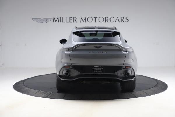 New 2021 Aston Martin DBX SUV for sale $194,486 at Alfa Romeo of Greenwich in Greenwich CT 06830 5
