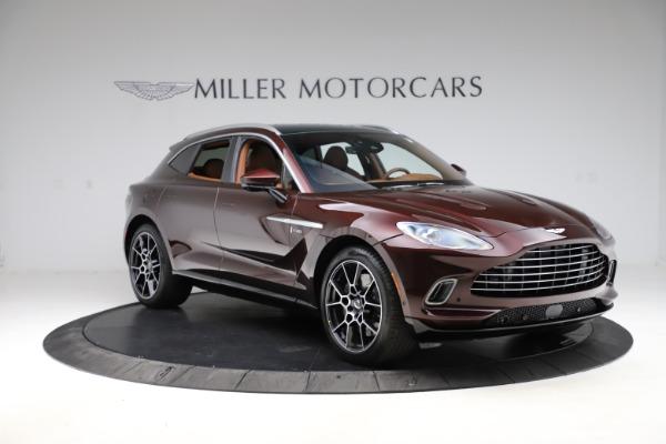 New 2021 Aston Martin DBX for sale $226,836 at Alfa Romeo of Greenwich in Greenwich CT 06830 10