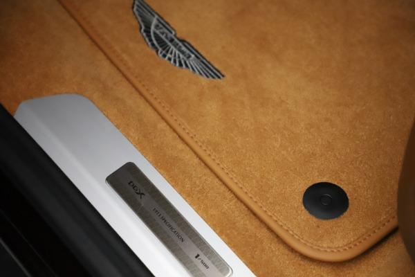 New 2021 Aston Martin DBX for sale $226,836 at Alfa Romeo of Greenwich in Greenwich CT 06830 17