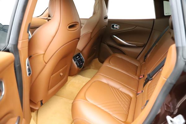 New 2021 Aston Martin DBX for sale $226,836 at Alfa Romeo of Greenwich in Greenwich CT 06830 19
