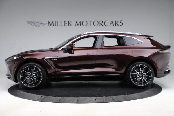 New 2021 Aston Martin DBX for sale $226,836 at Alfa Romeo of Greenwich in Greenwich CT 06830 2