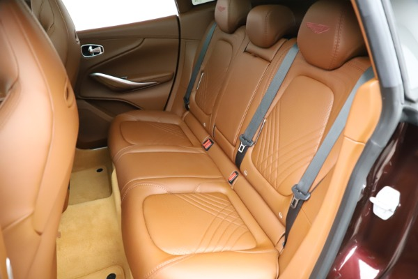 New 2021 Aston Martin DBX for sale $226,836 at Alfa Romeo of Greenwich in Greenwich CT 06830 20