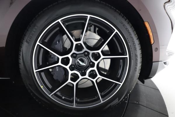 New 2021 Aston Martin DBX for sale $226,836 at Alfa Romeo of Greenwich in Greenwich CT 06830 28
