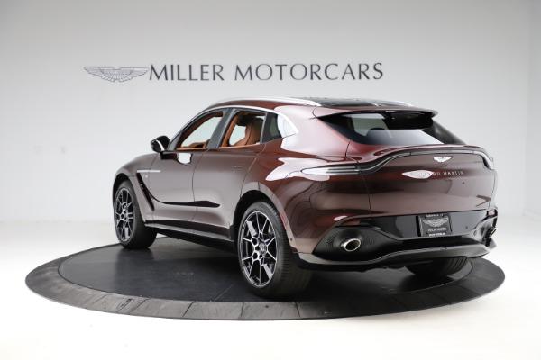New 2021 Aston Martin DBX for sale $226,836 at Alfa Romeo of Greenwich in Greenwich CT 06830 4