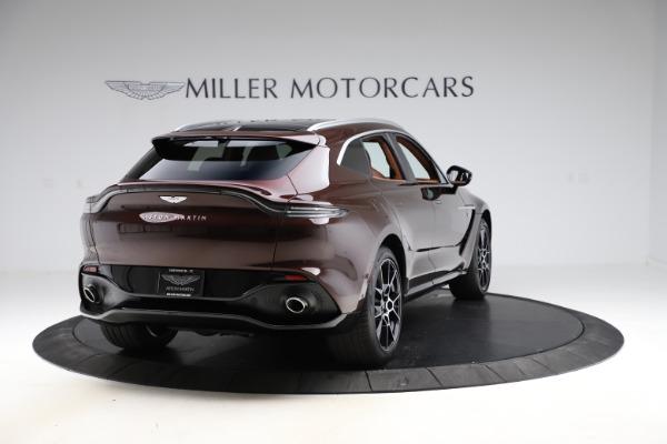 New 2021 Aston Martin DBX for sale $226,836 at Alfa Romeo of Greenwich in Greenwich CT 06830 6