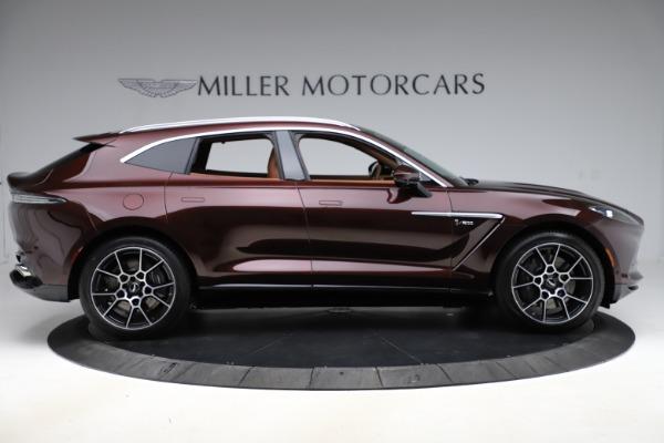 New 2021 Aston Martin DBX for sale $226,836 at Alfa Romeo of Greenwich in Greenwich CT 06830 8