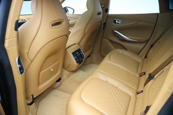 New 2021 Aston Martin DBX for sale $212,886 at Alfa Romeo of Greenwich in Greenwich CT 06830 18