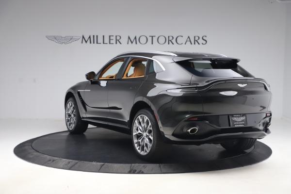 New 2021 Aston Martin DBX for sale $212,886 at Alfa Romeo of Greenwich in Greenwich CT 06830 4