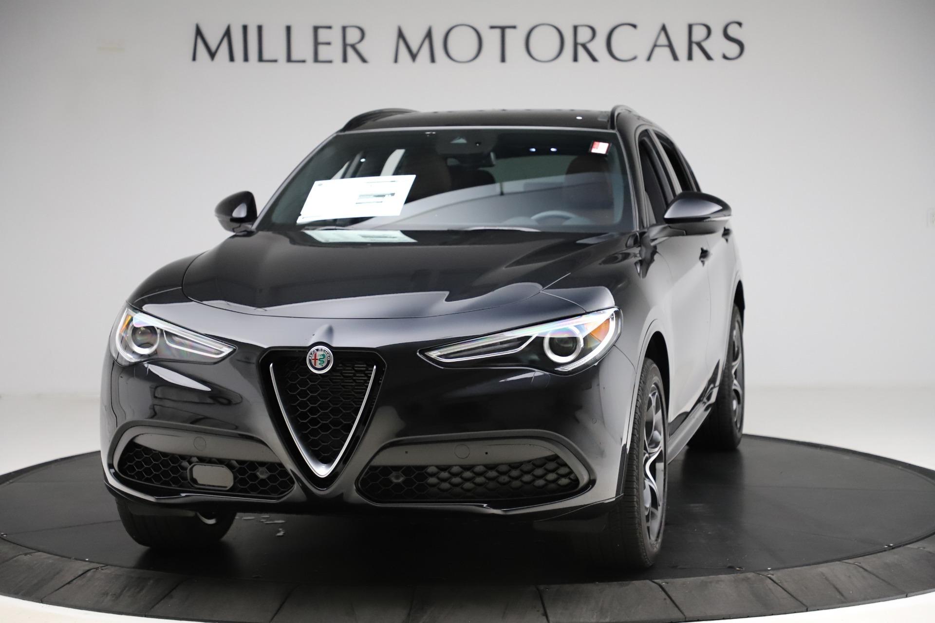 New 2020 Alfa Romeo Stelvio Ti Lusso Q4 for sale $53,995 at Alfa Romeo of Greenwich in Greenwich CT 06830 1