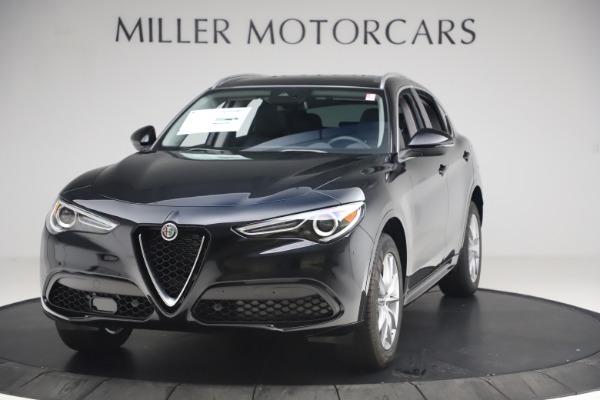 New 2020 Alfa Romeo Stelvio Ti Lusso Q4 for sale $52,695 at Alfa Romeo of Greenwich in Greenwich CT 06830 1