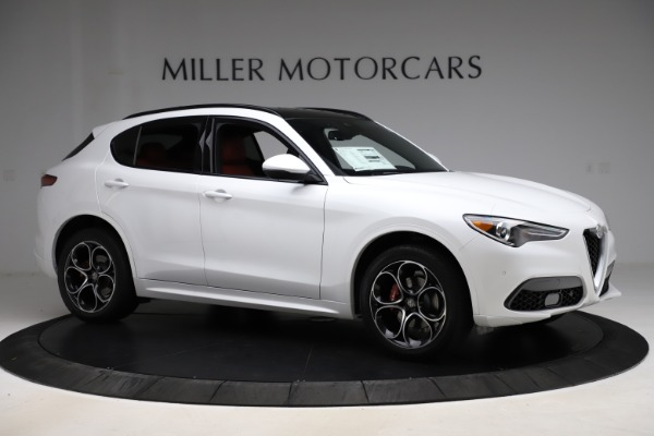 New 2020 Alfa Romeo Stelvio Ti Sport Q4 for sale $57,245 at Alfa Romeo of Greenwich in Greenwich CT 06830 10