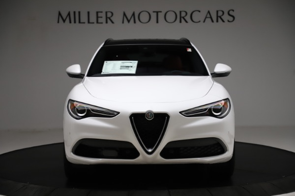 New 2020 Alfa Romeo Stelvio Ti Sport Q4 for sale $57,245 at Alfa Romeo of Greenwich in Greenwich CT 06830 12
