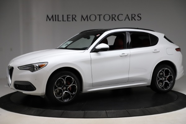 New 2020 Alfa Romeo Stelvio Ti Sport Q4 for sale Sold at Alfa Romeo of Greenwich in Greenwich CT 06830 2