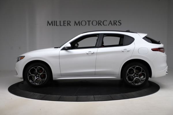 New 2020 Alfa Romeo Stelvio Ti Sport Q4 for sale $57,245 at Alfa Romeo of Greenwich in Greenwich CT 06830 3