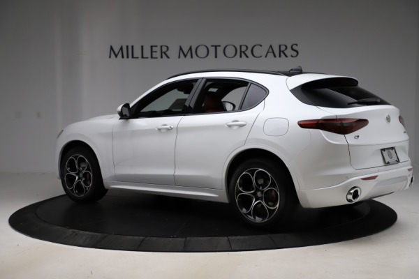 New 2020 Alfa Romeo Stelvio Ti Sport Q4 for sale Sold at Alfa Romeo of Greenwich in Greenwich CT 06830 4