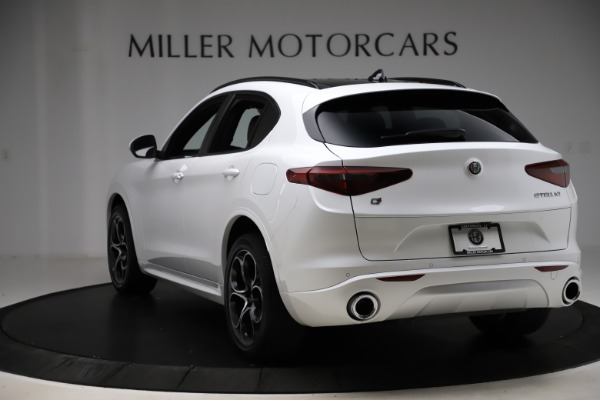 New 2020 Alfa Romeo Stelvio Ti Sport Q4 for sale $57,245 at Alfa Romeo of Greenwich in Greenwich CT 06830 5