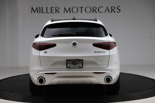 New 2020 Alfa Romeo Stelvio Ti Sport Q4 for sale $57,245 at Alfa Romeo of Greenwich in Greenwich CT 06830 6