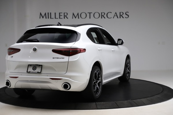 New 2020 Alfa Romeo Stelvio Ti Sport Q4 for sale $57,245 at Alfa Romeo of Greenwich in Greenwich CT 06830 7