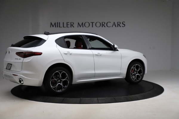 New 2020 Alfa Romeo Stelvio Ti Sport Q4 for sale $57,245 at Alfa Romeo of Greenwich in Greenwich CT 06830 8