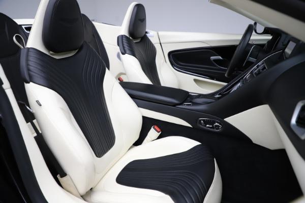 Used 2020 Aston Martin DB11 Volante for sale $209,900 at Alfa Romeo of Greenwich in Greenwich CT 06830 21