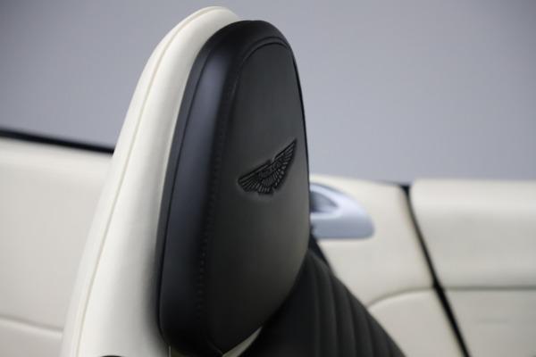 Used 2020 Aston Martin DB11 Volante for sale $209,900 at Alfa Romeo of Greenwich in Greenwich CT 06830 22