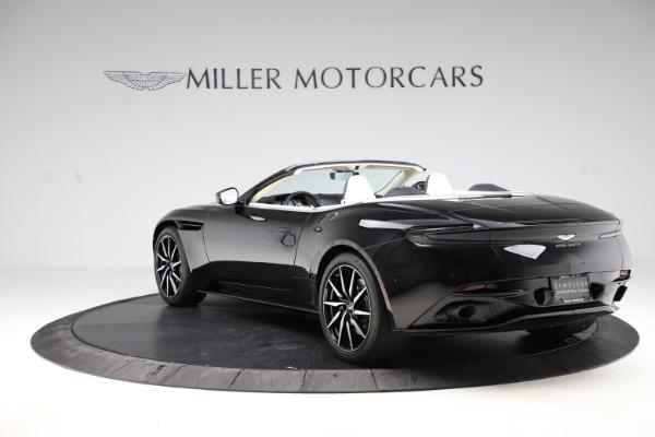 Used 2020 Aston Martin DB11 Volante for sale $209,900 at Alfa Romeo of Greenwich in Greenwich CT 06830 4