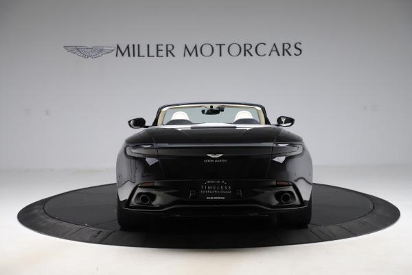 Used 2020 Aston Martin DB11 Volante for sale $209,900 at Alfa Romeo of Greenwich in Greenwich CT 06830 5