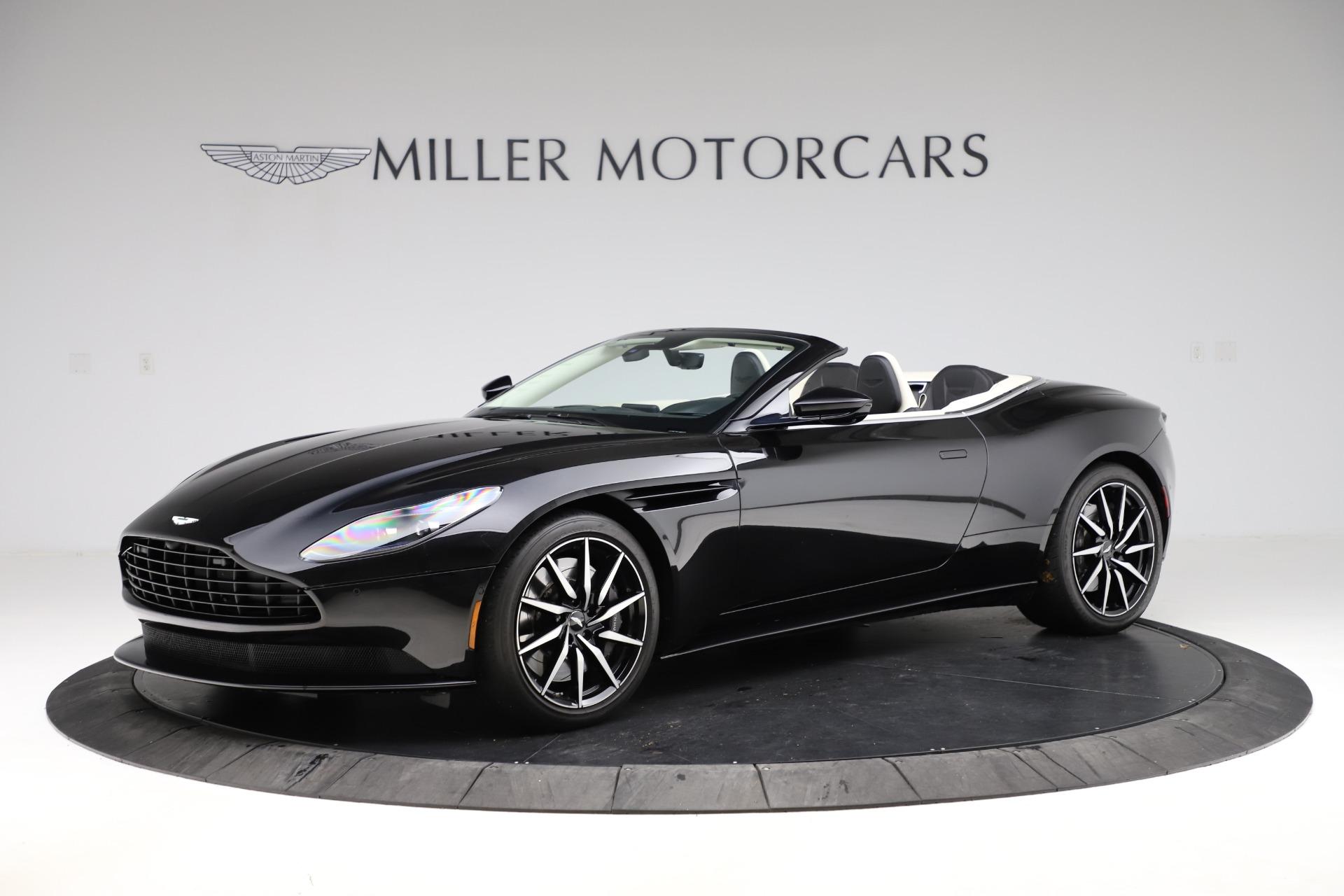 Used 2020 Aston Martin DB11 Volante for sale $209,900 at Alfa Romeo of Greenwich in Greenwich CT 06830 1