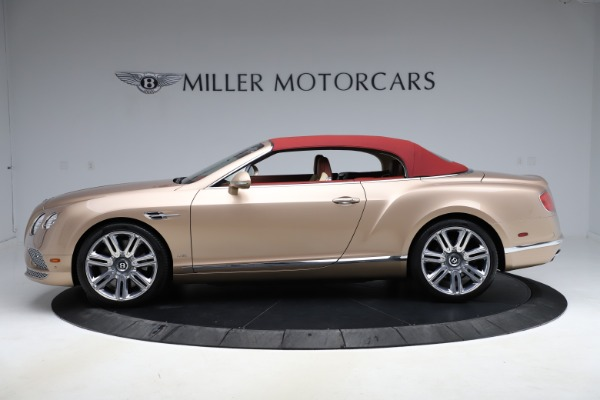 Used 2017 Bentley Continental GTC W12 for sale $165,900 at Alfa Romeo of Greenwich in Greenwich CT 06830 12