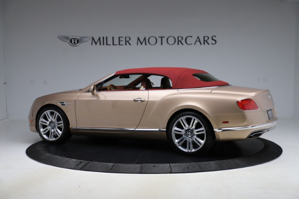 Used 2017 Bentley Continental GTC W12 for sale $165,900 at Alfa Romeo of Greenwich in Greenwich CT 06830 13