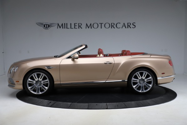 Used 2017 Bentley Continental GTC W12 for sale $165,900 at Alfa Romeo of Greenwich in Greenwich CT 06830 3