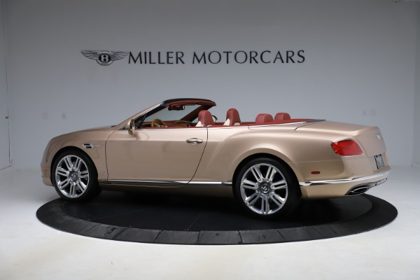 Used 2017 Bentley Continental GTC W12 for sale $165,900 at Alfa Romeo of Greenwich in Greenwich CT 06830 4