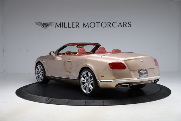 Used 2017 Bentley Continental GTC W12 for sale $165,900 at Alfa Romeo of Greenwich in Greenwich CT 06830 5